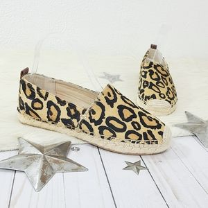 Sam Edelman Khloe leopard print espadrilles NWOB